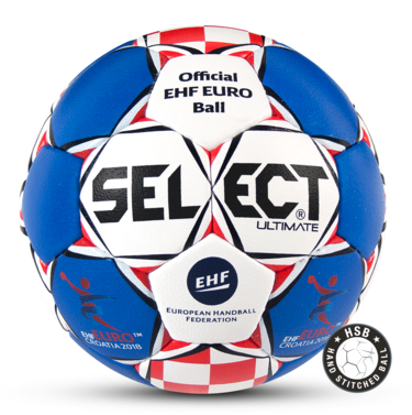 The Official Match Ball for the Men's EHF EURO 2018 in Croatia