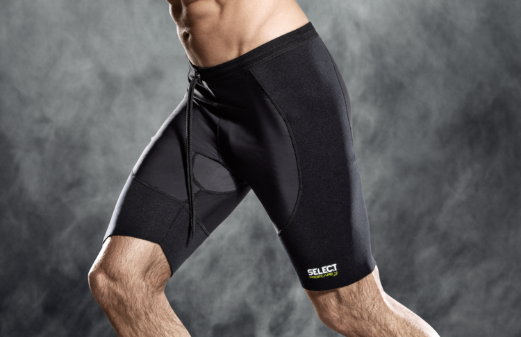Thermal Trousers with Lycra - Black
