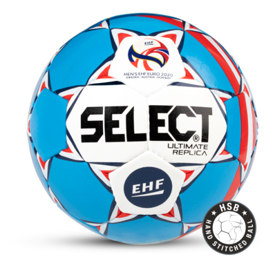 Replica of the official match ball for the men's EHF EURO 2020