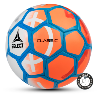 Classic fotboll - white-orange