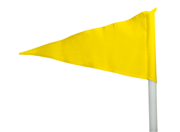 Corner Flag - Yellow
