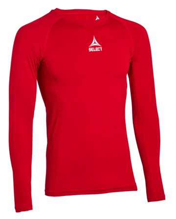 Skjorte, lange ermer Baselayer- red