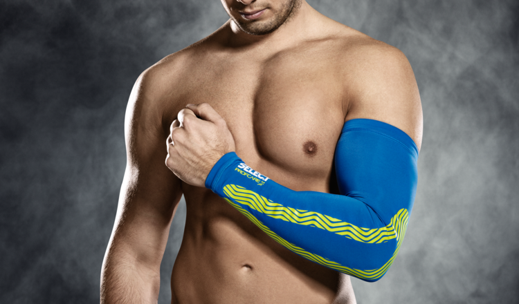 6610 Compression Arm Sleeve - Blue