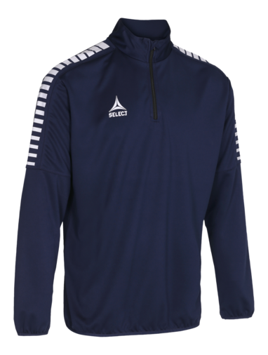 Argentina Training Sweat 1/2_Zip - granatowy