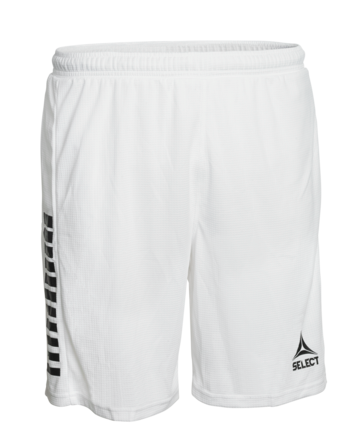 Monaco Player Shorts in White-Black from SELECT