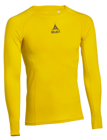 Shirt L/S Baselayer - yellow