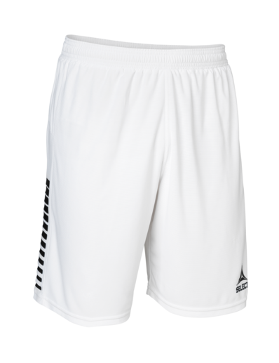 Player Shorts Brazil - White/Black